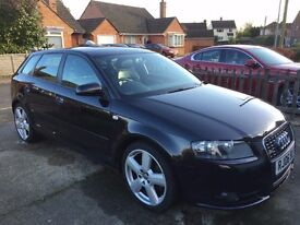 Audi A3 2.0 TSFI S Line Special Edition, 5 Door - All the options!