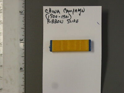 Institute of Heraldry (TIOH) sample, China Campaign (1900-1901) Ribbon Bar, new