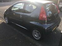Peugeot 107 only 40,000 miles