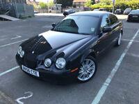 2006 (56) Jaguar S-Type 2.7 D V6 Sport 4dr Black 6 Months Warranty Included