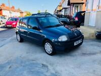 RENAULT CLIO AUTOMATIC 5DOOR LOW MILAGE 44000 LONG MOT not fiesta polo micra fiat