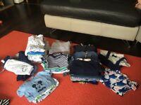 58 Item Clothing Bundle: Baby Boy 3-6 Months