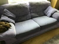 Matching 3 seater and 2 Seater Sofas from DFS