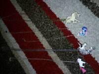 Four unicorn necklaces