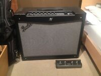 Fender Mustang IV V.ii Guitar Amp with 4 Button Foot Switch Included