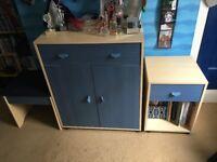 6 Piece Kids/Teen Bedroom Furniture Set