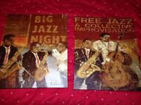 Brand new two large jazz canvases