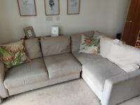 Corner sofa bed + storage