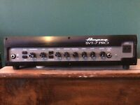 Ampeg SVT-7 pro bass amplifier head 1050w