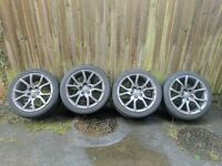 """Audi A5 Genuine 18"""" Alloys with Tyres"""