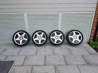 18inch mercedes amg alloy wheels