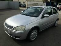 2004 Vauxhall corsa 1.2 16v 64k 12 months mot