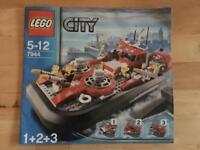 LEGO City Fire Hovercraft 7944