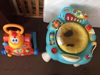 ELC activity centre and little tikes walker and activity centre