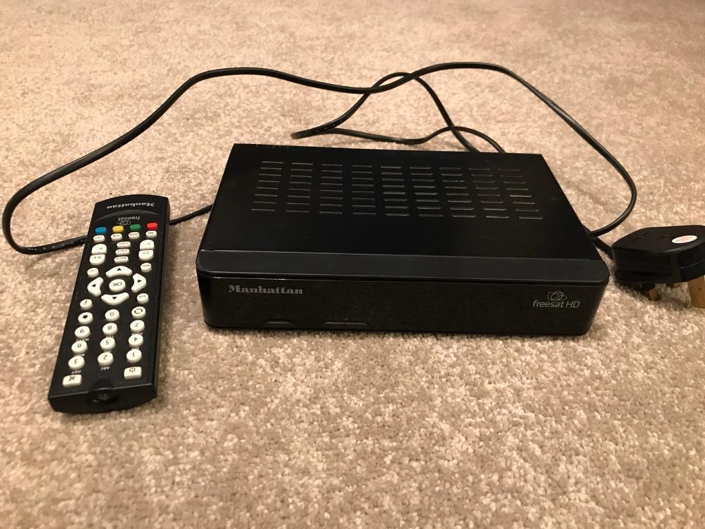 Freetsat HD satellite receiver Manhattan | in Alfreton, Derbyshire | Gumtree
