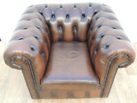 Chesterfield club chair (Delivery)