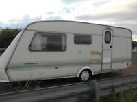 4 berth elddis early 90s caravan £1250