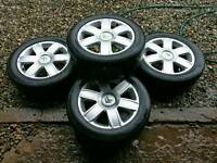 16 inch Citroen alloys 4x108 also fit ford and peugeot