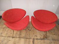 Pierre Paulin Orange Slice Chairs for Artifort Design