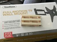 Full motion tv wall bracket