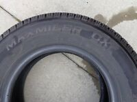 Two used Tyres