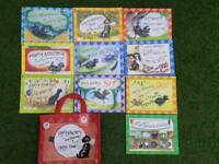 Hairy Maclary and friends 10 set book collection bag
