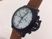New Panerai Luminor Militare Automatic Watch, See Through back