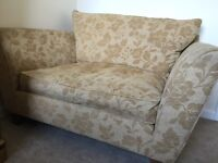 Very comfortable love seat/1.5 seater