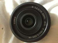 Lumix G 14mm F2.5 MK II Pancake Lens Black