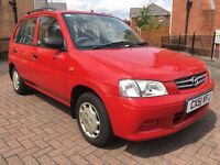 2001 51 MAZDA DEMIO 1.3 LXI 5DR IMMACULATE LOW MILEAGE EXAMPLE