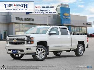 2015 Chevrolet Silverado 1500 LTZ CREW 4WD - HEATED AND COOLED S