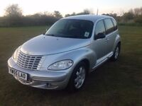 AUTOMATIC, LOW MILES 55 PT CRUISER TOURING EDT 2-4 AUTO 48K, CLASSIC AS NEW £1495 P/EX, ANY CARDS ++