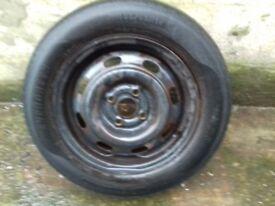 Rover 200 25 400 45 14 inch steel wheel