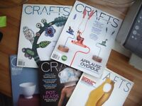 'Crafts' Magazines - Several complete years