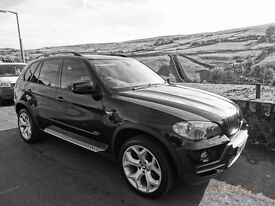 BMW X5 3.0d All windows tinted