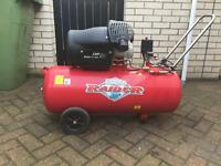 Clarke raider 15/1000 air compressor for sale