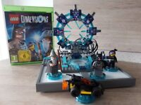 Xbox one Lego Dimensions starter pack with additional fun packs.
