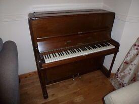 Beautiful Short STAHL Upright Piano