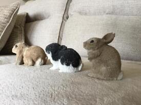 Stone Critter rabbits