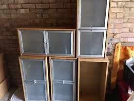 Cupboards office furniture and chairs