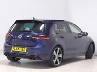 Volkswagen Golf R (blue) 2014-09-19