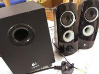 Logitech z323. 60 watts. speaker system