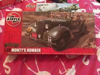 Airfix model Montys Humber staff car