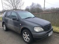 Mercedes Ml270 Spare Parts Breaking