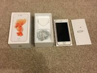 IPHONE 6S 64GB UNLOCKED IMMACUALTE BOX CHARGER