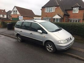 VW SHARAN 1.9 TDI TURBO DIESEL 1998 SILVER LOW MILES NOT FORD GALAXY SEAT ALHAMBRA COROLLA VERSO MPV