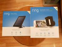 Ring Spotlight Cam + Solar Panel