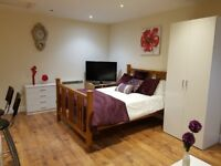 Spacious Studio flat to let with easy access to anywhere