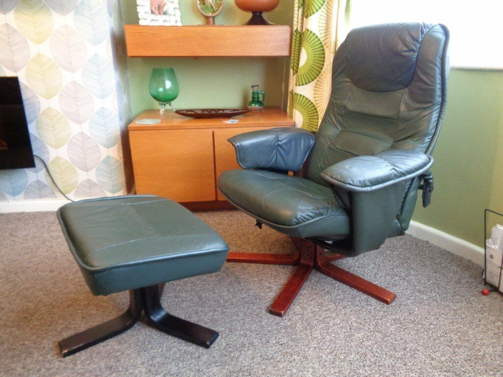 Anderssons Of Sweden Leather Recliner Chair
