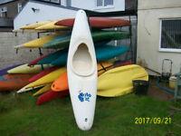 Kayak plastic Pyranha